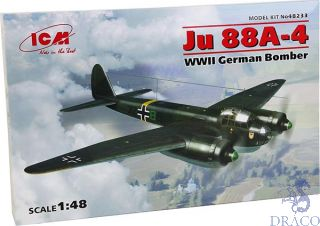 Ju 88A-4 WWII - German Bomber 1/48 [ICM]