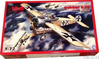 Fokker E.IV WWI German Fighter 1/72 [ICM]