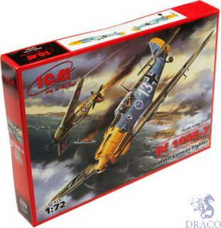 Bf 109E-3 WWII German Fighter 1/72 [ICM]