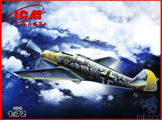 Bf 109 E-7/B WWII German Fighter-Bomber 1/72 [ICM]