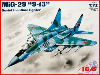 "MiG-29 ""9-13"" Soviet Frontline Fighter 1/72 [ICM]"
