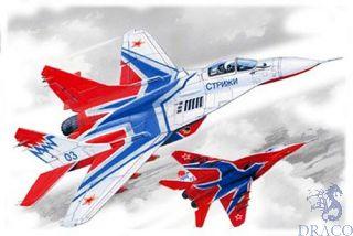 "MiG-29 ""9-13"" Russian Aerobatic Team ""Swifts"" Plane 1/72 [ICM]"
