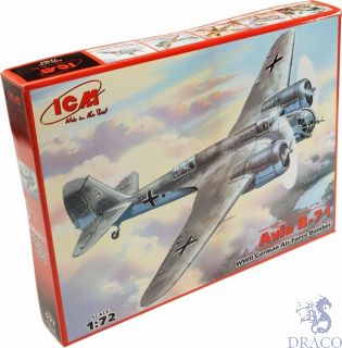 Avia B-71 WWII German Air Force Bomber 1/72 [ICM]