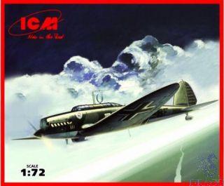 He 70F-2 German Recconaissance Plane 1/72 [ICM]