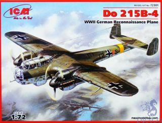 Do 215 B-4 WWII German Recconaissance Plane 1/72 [ICM]