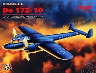 Do 17Z-10 WWII German Night Fighter 1/72 [ICM]