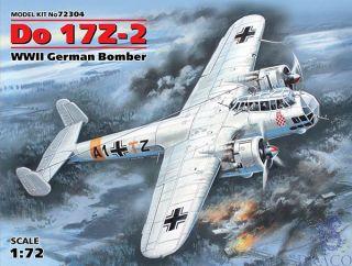 Do 17Z-2 WWII German Bomber 1/72 [ICM]