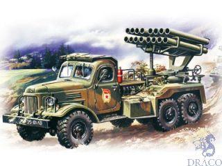 BM-14-16 Multiple Launch Rocket System 1/72 [ICM]
