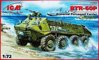 BTR-60P Armored Personnel Carrier 1/72 [ICM]