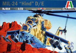 """MIL-24 """"Hind"""" D/E 1/72 [Italeri]"""