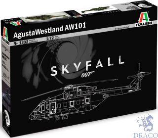 Agusta-Westland AW-101 SKYFALL 007 1/72 [Italeri]