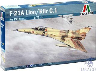 F-21A Lion/Kfir C.1 1/72 [Italeri]
