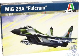MiG-29A Fulcrum 1/72 [Italeri]