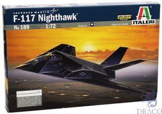 Lockheed Martin F-117 NIGHTHAWK 1/72 [Italeri]
