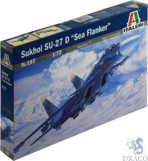 Sukhoi SU-27 D Sea Flanker 1/72 [Italeri]