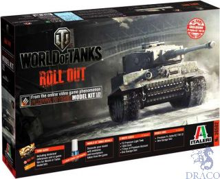 World of Tanks Roll Out Pz.Kpfw.VI TIGER I Limited Edition 1/35 [Italeri]