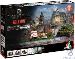 Himmelsdorf Diorama-Box World of Tanks limited edition 1/35 [Italeri]