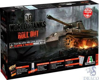 World of Tanks Roll Out - Pz. Kpfw. V Panther 1/35 [Italeri]