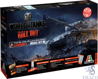 World of Tanks Roll Out Leopard 1A2 Limited Edition 1/35 [Italeri]