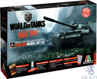 World of Tanks Roll Out Type 59 Limited Edition 1/35 [Italeri]