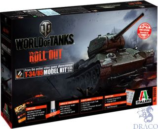 World of Tanks Roll Out T-34/85 Limited Edition 1/35 [Italeri]