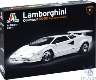 Lamborgini Countach 5000 Quattrovalvole 1/24 [Italeri]