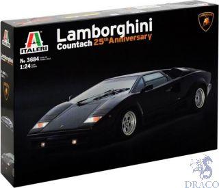 Lamborghini Countach 25th Anniversary 1/24 [Italeri]