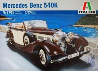 Mercedes Benz 540K 1/24 [Italeri]