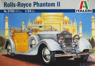 Rolls-Royce Phantom II 1/24 [Italeri]