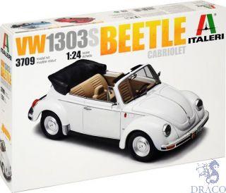VW 1303S Beetle Cabriolet 1/24 [Italeri]