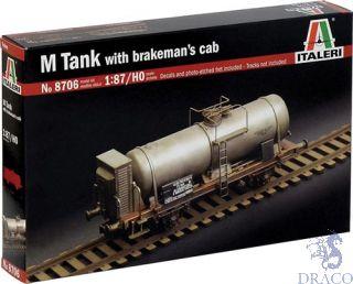 M Tank with brakeman's cab 1/87 = H0 [Italeri]