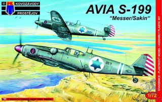 """AVIA S-199 """"Messer/Sakin"""" 1/72 [AZmodel]"""