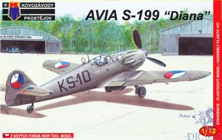 "Avia S-199 ""Diana"" 1/72 [AZmodel]"