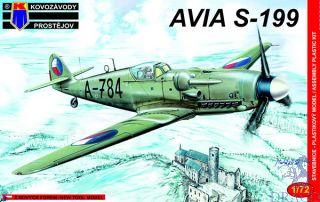 """AVIA S-199 """"Mezek"""" 1/72 [AZmodel]"""
