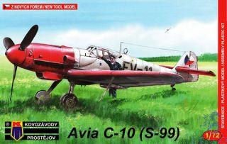 Avia C-10 (S-99) (Messerschmitt Bf 109G-10) 1/72 [AZmodel]