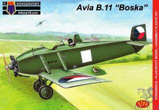 "Avia B.11 ""Boska"" 1/72 [AZmodel]"