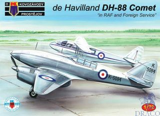 """de Havilland DH-88 Comet """"in RAF and Foreign Service"""" 1/72 [AZmodel]"""