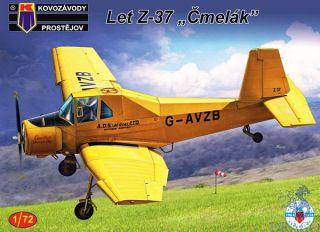 """Let Z-37 """"Čmelák"""" 1/72 [AZmodel]"""