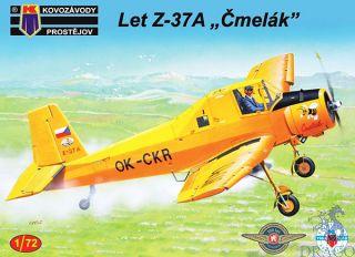 """Let Z-37A """"Čmelák"""" 1/72 [AZmodel]"""