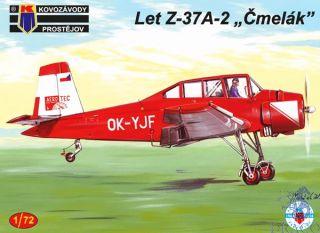 """Let Z-37A-2 """"Čmelák"""" 1/72 [AZmodel]"""