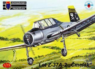 """Let Z-37A-2 """"Čmelák"""" (B) 1/72 [AZmodel]"""
