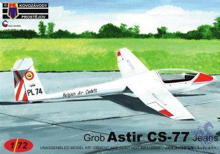 """Grob Astir CS-77 """"Jeans"""" 1/72 [AZmodel]"""
