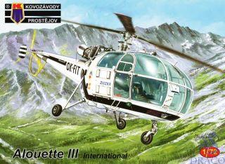 Alouette III International 1/72 [AZmodel]