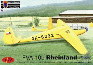 FVA-10b Rheinland (Šídlo) 1/72 [AZmodel]