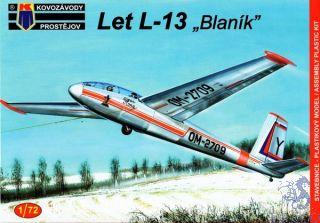 "Let L-13 ""Blaník"" 1/72 [AZmodel]"