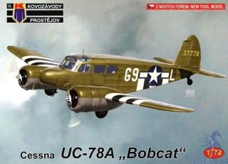 "Cessna UC-78A ""Bobcat"" 1/72 [AZmodel]"