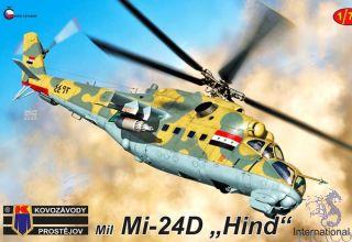 "Mil Mi-24 ""Hind"" International 1/72 [AZmodel]"