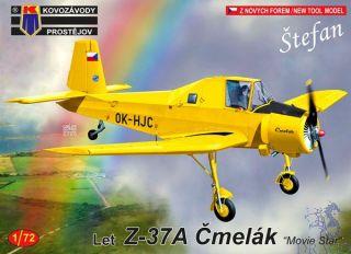 """Let Z-37A Čmelák """"Movie Star"""" 1/72 [AZmodel]"""