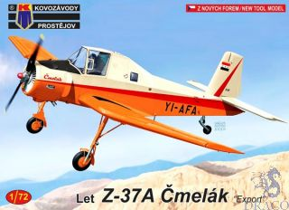 """Let Z-37A Čmelák """"Export"""" 1/72 [AZmodel]"""