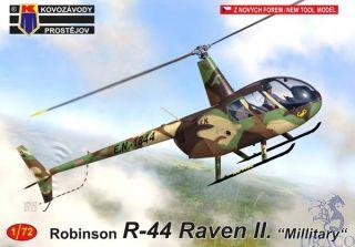 "Robinson R-44 Raven II. ""Military"" 1/72 [AZmodel]"